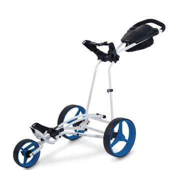 Big Max Autofold X 3-Rad Trolley weiss/blau 1