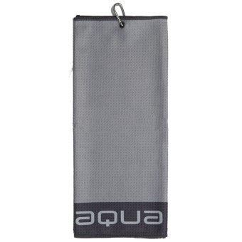 'Big MAX' 'Big Max Aqua Tour TriFold Handtuch Mikrofaser grau'
