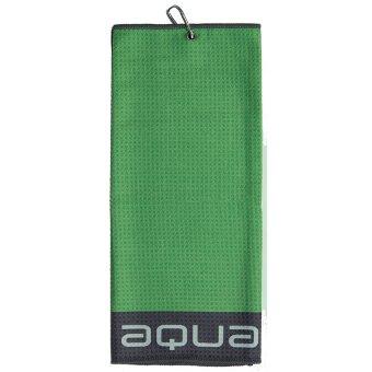 'Big MAX' 'Big Max Aqua Tour TriFold Handtuch Mikrofaser lime'