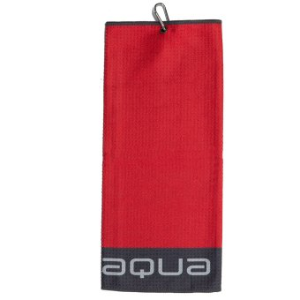 'Big MAX' 'Big Max Aqua Tour TriFold Handtuch Mikrofaser rot'