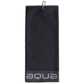Big Max Aqua Tour TriFold Handtuch Mikrofaser schwarz 1