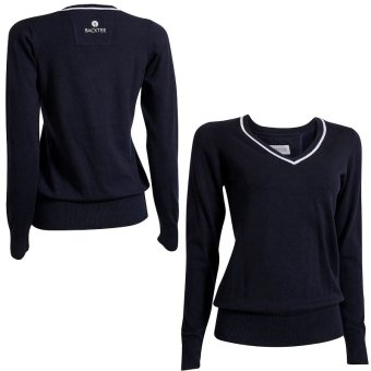 BackTee 'Golf Damenpullover Strick Stretch 46401 navy'