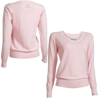 BackTee 'Golf Damenpullover Strick Stretch 46401 rosa'