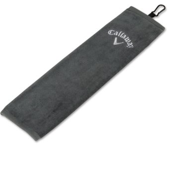 Callaway Golf TRI Fold Handtuch dunkelgrau 1