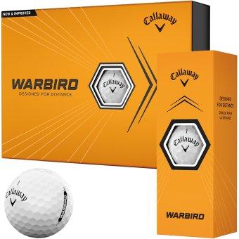 Callaway HEX Warbird Golfbälle 12er weiss 1