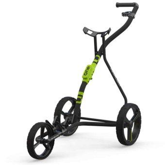 Wishbone ONE Megalight 3-Rad Trolley schwarz/lime 1