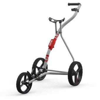 Wishbone ONE Megalight 3-Rad Trolley weiss/rot 1