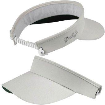 Daily Golf Marina Damen Visor mit Spiralband hellgrau 1