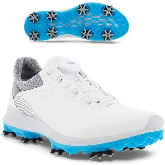 Ecco Biom G3 BOA Damen Golfschuh Gore-Tex weiss/blau 36