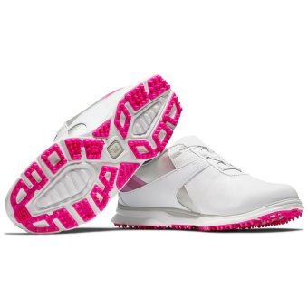 Footjoy Pro SL BOA 2020 Damengolfschuh weiss/pink 37
