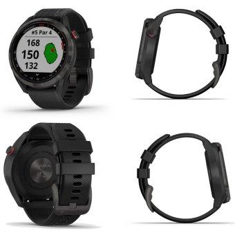 Garmin Approach S42 GPS Golfuhr schwarz 1