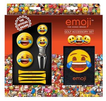 'Golf und Günstig' 'Emoji Golf Accessory Set 9-teilig'