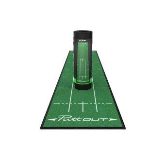 'Golf und Günstig' 'PuttOUT Golf Puttingmatte 2,4 x 0,50m grün'
