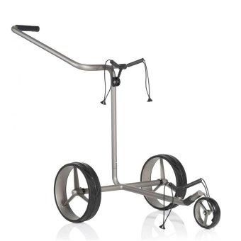 JuCad Edition Dreirad Trolley silber mit Felgen silber 1