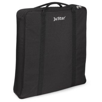 JuStar Elektro Trolley Tragetasche Carbon und Silver 1