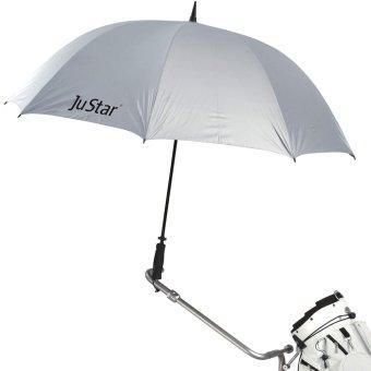 JuStar Regenschirm silber 1