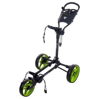 Fast Fold Slim 3-Rad Trolley schwarz/lime 1