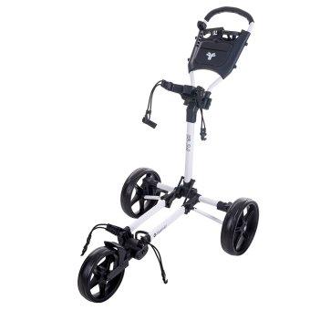 Fast Fold Slim 3-Rad Trolley weiss 1