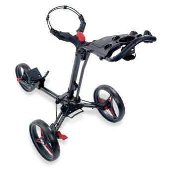 Motocaddy P1 3 Rad Trolley schwarz/rot 1