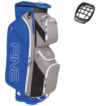 Ping Traverse Cartbag grau/blau 1