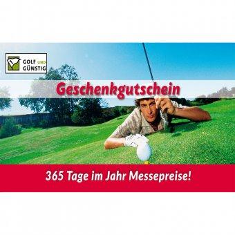 Gutschein zum Ausdrucken 10 Euro Golfer