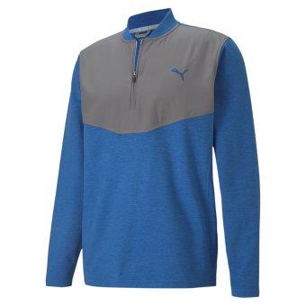 Puma Golf Herren Cloudspun 1/4 Zip Pullover (597588) b/g L