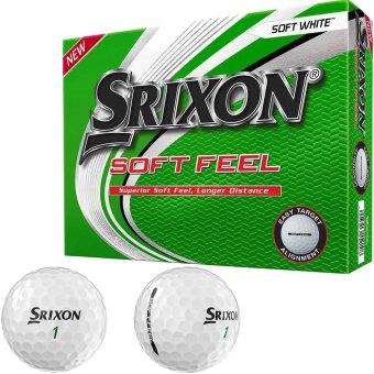 Srixon Soft Feel Golfball 12er weiss 1