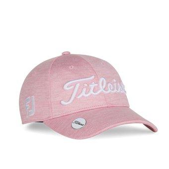 Titleist Tour Performance Ballmarker Damen Cap pink 1