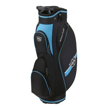 Wilson Staff Lite II Cart Bag schwarz/blau 1