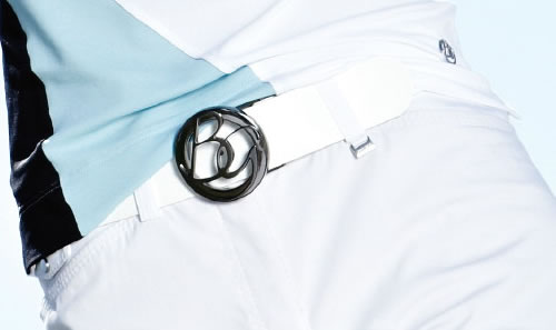 8fbb6d63e0ec1 Brax Golf Damen Gürtel Leder (50-0400) weiß Länge 95cm weiß