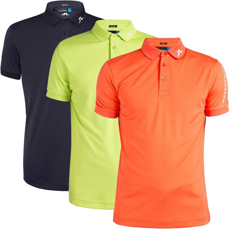 J.Lindeberg Golf Tour Tech Reg TX Herren Polo schwarz XXL schwarz   XXL    regular fit 1d13bc4881