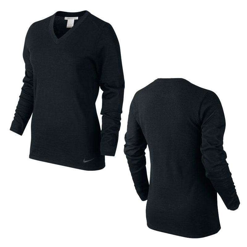 nike damen v neck pullover 685347 golf g nstig. Black Bedroom Furniture Sets. Home Design Ideas