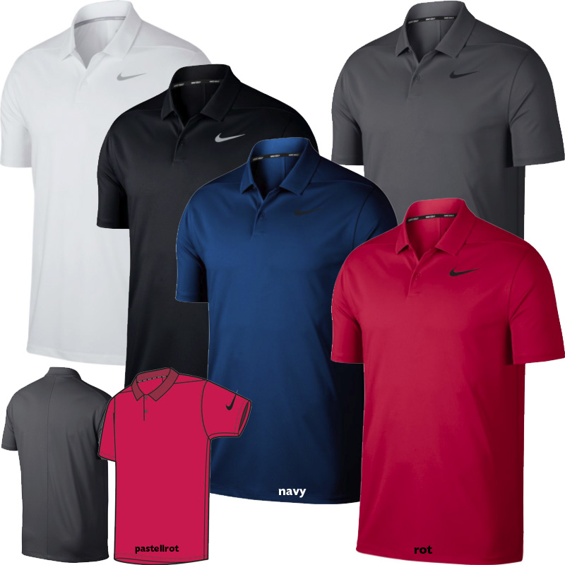 sports shoes eefee 879cf Nike Dry Victory Solid Herren Polo (891857)