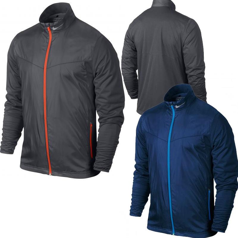 nike golf shield jacket herren 639983 blau s golf. Black Bedroom Furniture Sets. Home Design Ideas