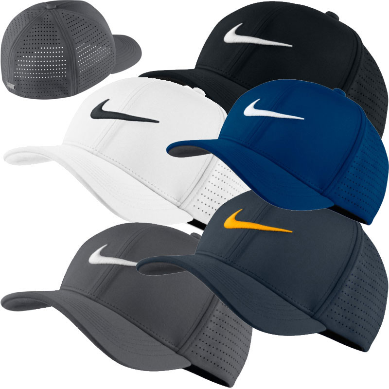 d18fb3bd07c Nike Golf Classic 99 Perforated Cap (803330) blau S M blau