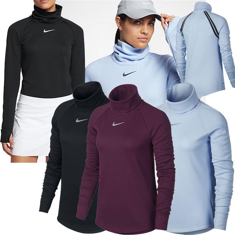 nike golf aeroreact damen pullover mock 869461 golf. Black Bedroom Furniture Sets. Home Design Ideas