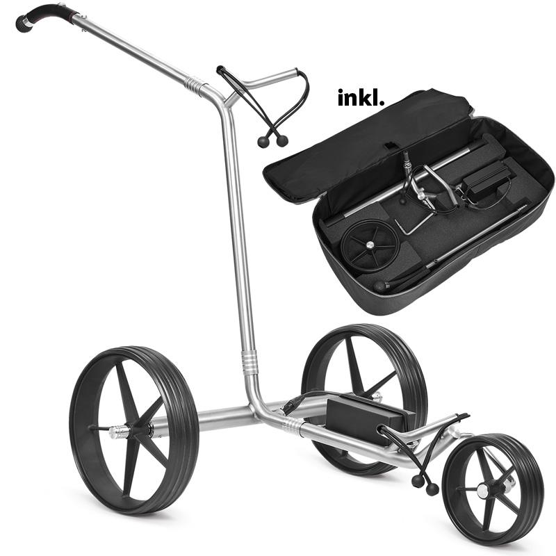 TiCad Goldfinger Titan Elektrotrolley. | Golf & Günstig